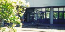 Innenhof der Organischen Chemie (Foto: FAU)