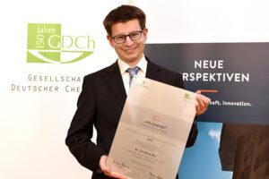 Dr. Christian Ehli bei der Preisverleihung (Foto: Peter Himsel)