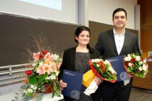 Dr. Carolin Schulz und Herr Dr. Emir Puyan Taghikhani (Foto: Giulia Iannicelli/FAU)