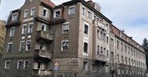 Das Foto zeigt das Gebäude des Lehrstuhls für Aromaforschung an der Henkestr. 9.